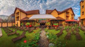 Konaklamanın olacağı otel : Hotel Korona Sighişoara